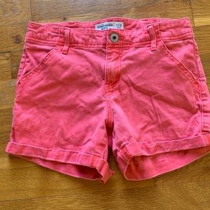 Red Abercrombie Shorts